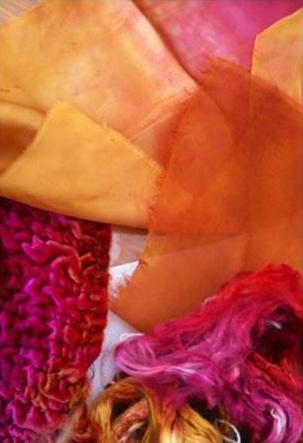 Cómo utilizar la seda en trabajos textiles